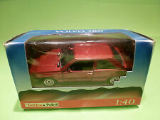 POLISTIL 5308 1:43 VOLVO 780 COUPE -RED METALLIC- RARE SELTEN - VERY GOOD IN BOX