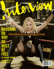 Interview Magazine April 2008 Madonna Collector' Issue Must Have Ingrid Sischy
