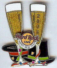 Hard Rock Cafe ONLINE 2008 New Year GUITAR PIN Bass Player - HRC Catalog #40880