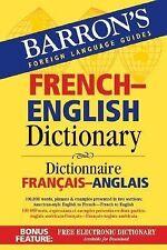 Barron's French-English Dictionary: Dictionnaire Francais-Anglais (Barron's Bil