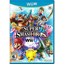 * New * Factory Sealed * Super Smash Bros. - Nintendo Wii U   - Game Disc USA