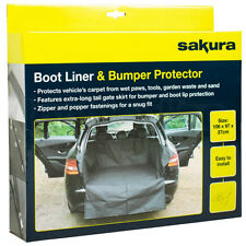 Heavy Duty Water Resistant Car Boot Liner Lip Protector Dirt Pet Dog Cover Mat