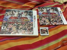 Tekken 3D Prime Edition Game For Nintendo 3DS Complete In Box With Manual Tested