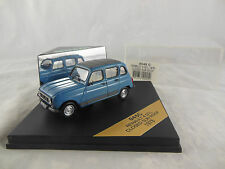 Vitesse V045C 1978 Renault 4 GTL in Blue with Closed Sunroof scale 1:43