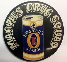 VFL/AFL Collectable Collingwood Magpies *Magpies Grog Squad* Badge/ Pin
