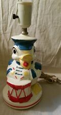 Vintage Marching DUCK Playing DRUM LAMP Baby Nursery Children's Room