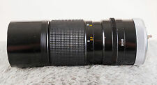 Canon OEM 100-200mm F5.6 Telephoto Zoom Lens - Manual Focus FD Series - Tested