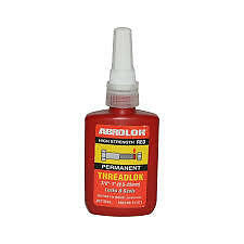 ABRO THREADLOCK 50ml-LOCK AND SEAL-RED PERMANENT HIGH STRENGTH Similar t Loctite
