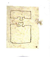 EDUARDO CHILLIDA - Litografia original Derrier le miroir - 1980