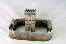 Dark Age STOCKADE or CASTLE laser cut MDF 28mm scale Building Set