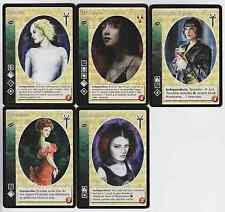Daughters of Cacophony Crypt Lot G4 5x Vampires Mixed HttB/LoB V:TES VTES