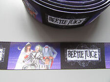 Beetle Juice Grosgrain Ribbon 2.5cm x 1 Metre Sewing/Crafts/Cake