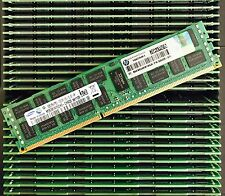 HP 32GB (4x8GB) 500205-071 PC3 PC3-10600R ECC  Proliant  G6 G7 Server Memory