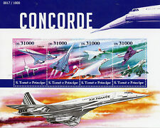 Sao Tome & Principe 2015 MNH Concorde 4v M/S Aviation Planes Airplanes Stamps