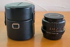 SMC Pentax-A 35mm f/2 MF lens with case