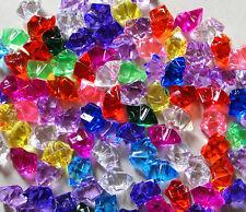 100 pieces Faux Fake Gems, Stones, Imitation Jewelry , Fish tank , Diamonds
