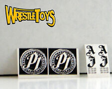AJ Styles TATTOO DECALS FOR FIGURE Custom Wrestling Fix Up WWE TNA NJPW P1 One