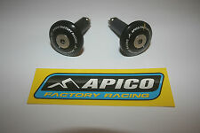 TRIALS APICO FACTORY BAR ENDS IN BLACK - GAS GAS - BETA-SHERCO-MONT AND MORE