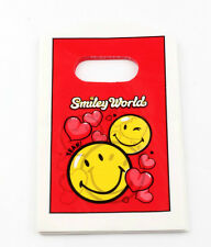 Jewelry Pouches.50pcs 9X15cm  Red Cute smiley  Plastic Bags Jewelry Gift Bag