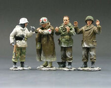 KING & COUNTRY BATTLE OF THE BULGE BBG004 GERMAN WITH G.I. PRISONERS MIB