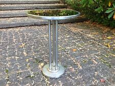 1930s WOLFGANG HOFFMAN Howell SIDE DRINKS TABLE Chrome MACHINE AGE Art Deco 26""
