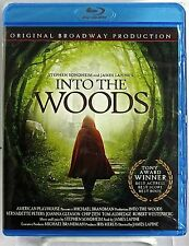 Into The Woods (Blu-Ray-Feb/2015) 1991 Original Broadway Production NEW