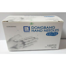 Disposable Hand Needles Acupuncture DongBang Sterilization 0.18x8mm 10,000pcs