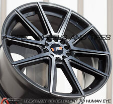 F1R F27 |18X8.5 +40 | 5X114.3 5X4.5 | GUN METAL | RIMS WHEELS | 4PC