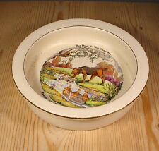 "Royal Winton Grimwades ""The Dog & The Shadow"" Aesop's Fable Baby Bowl"