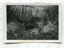Foto, Wehrmacht, sguardo a bunker in leiterswiller, Francia, e