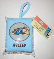 Curious Baby Curious George: Awake-Asleep Cloth Book and Door Hanger by H. A....
