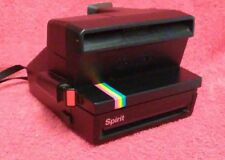 Vintage Polaroid Spirit 600 Land Camera Instant Film Rainbow Stripe works
