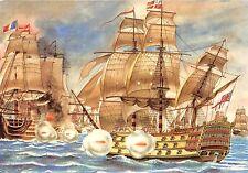 BF37509 painting le victory face au  bucentaure bernard louvio Boat Ship Bateaux