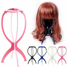 1pcs Wig Display Stand Mannequin Dummy Head Hat Cap Hair Holder Foldable
