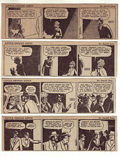 Little Orphan Annie by Harold Gray - 26 daily comic strips - Complete April 1948