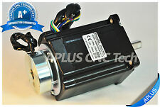 NEMA 34 Stepper Motor with Brake, 114mm 1160oz-in 5.6A 8Leads