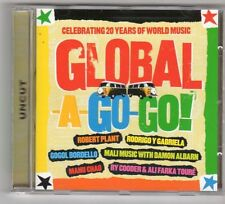 (GX344) Global-A-Go-Go!, 15 tracks various artists - 2007 Uncut CD