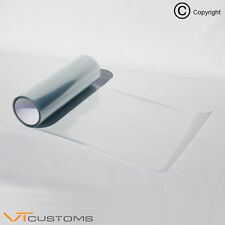 3 x A5 sheets Clear Protective Headlight Film for Fog Lights Tint Car Vinyl Wrap
