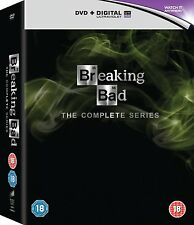 BREAKING BAD 1-6 COMPLETE SERIES / SEASON 1 2 3 4 5 6 DVD BOX SET ENGLISCH