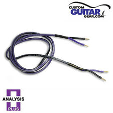 Analysis Plus Clear Oval Speaker Cable, 14 Gauge, 6ft Length