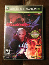 Brand New Sealed Devil May Cry 4 (Microsoft Xbox 360, 2008) Platinum Hits