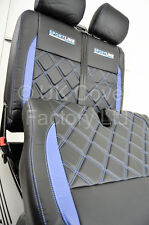 VW Transporter T4 Van Seat Covers- New Bentley Blue Made to Mesure- X152BK-BU