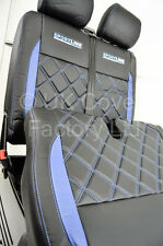Mercedes Vito Van Seat Covers- New Bentley Blue Made to Mesure- X152BK-BU