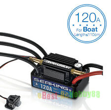Original Hobbywing SEAKING 120A V3 Water Proof Brushless Motor ESC For RC Boat