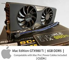 Apple GTX 980 Ti 6GB for Mac Pro Boot Screens, CUDA, 4K 5K Faster Than 680 7970