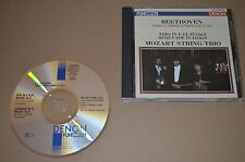 Beethoven - String Trios Complete Vol.1 / Mozart String / Denon 1988 / Japan