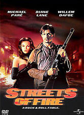 Streets of Fire by Michael Paré, Diane Lane, Rick Moranis, Amy Madigan, Willem