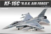 Academy 1/72 Scale Plastic Model Kit ROKAF KF-16C Fighting Falcon 12418 NIB