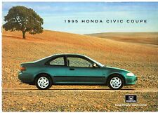 Honda Civic Coupe 1994-95 UK Market Sales Brochure 1.5i LSi