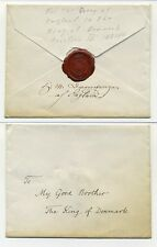 T5137 / GREAT BRITAIN / HANDDEL COVER FR. THE QUEEN OF ENGLAND TO